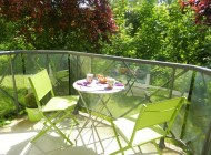 Terrasse appartement à louer à Chartres